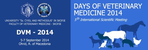 Days of veterinary medicine 2014